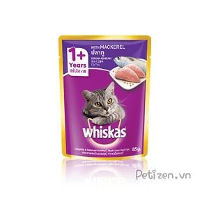 Pate mèo lớn Whiskas Cá thu 85g