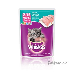 Pate mèo con whiskas