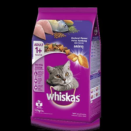 whiskas adult 1200g cá thu