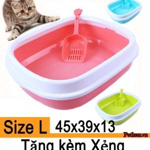 chậu vệ sinh mèo cỡ lớn