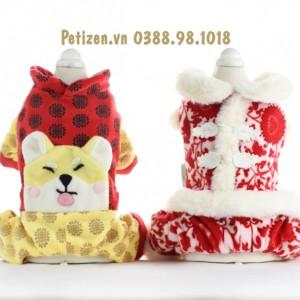 Áo Tết Chó Mèo 2019