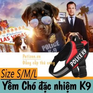 Yếm đai chó K9