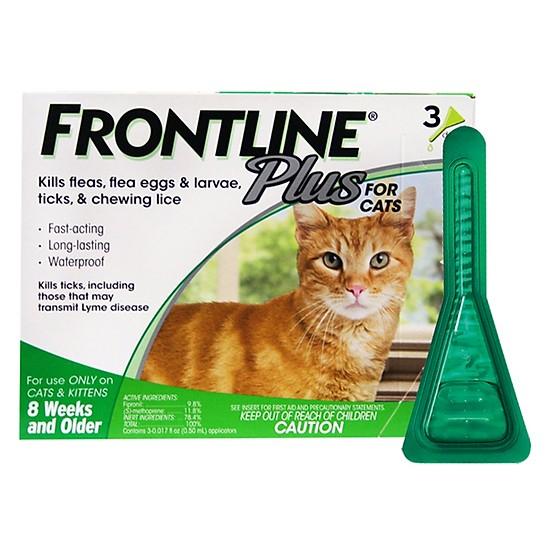 nhỏ gáy cho mèo frontline