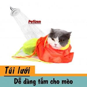 túi tắm vệ sinh mèo