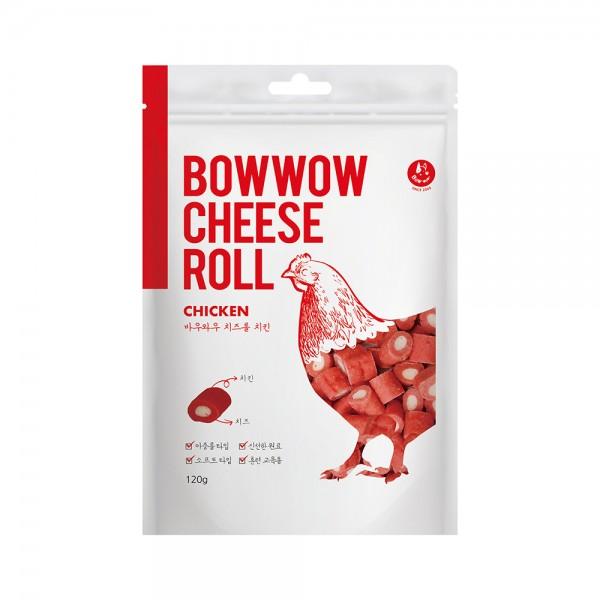 Bánh thưởng phô mai cuộn gà Bowwow