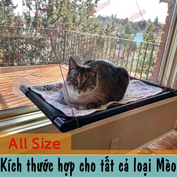 giường treo cho mèo