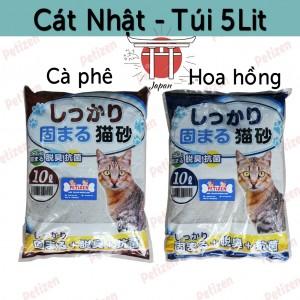 Cát vệ sinh mèo 5L nhật bản