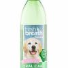 Nước vệ sinh răng miệng chó con