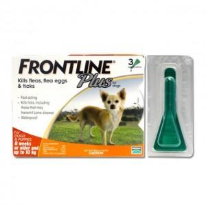 nhỏ gáy cho chó frontline