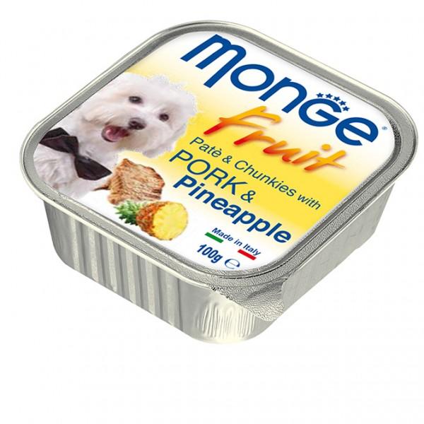 Pate Monge cho chó vị Heo Dứa