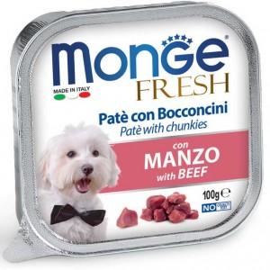 Pate Monge cho chó - vị Bò
