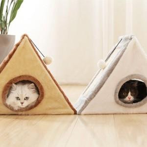 Nhà cho mèo có bàn cào