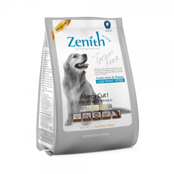 hạt mềm zenith cho chó giống lớn