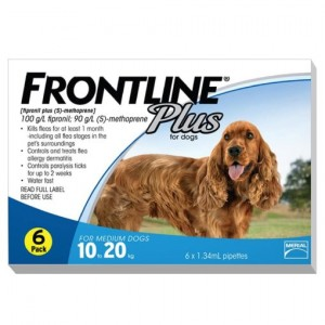 Nhỏ gáy trị ve rận cho chó Frontline Plus