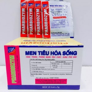 men tieu hoa song