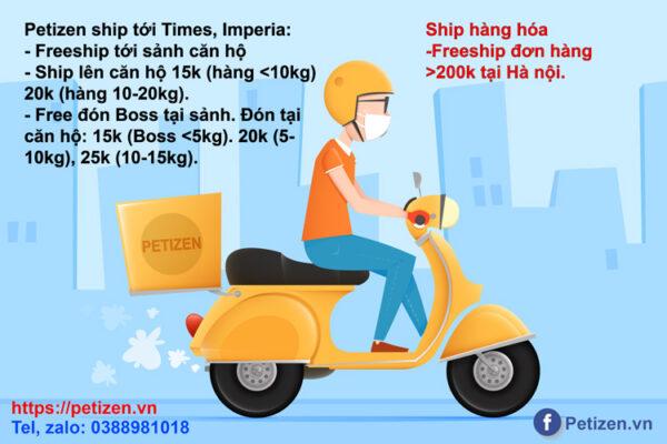 chính sách ship hàng