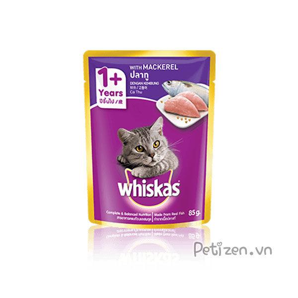 pate cho mèo whiskas vị cá thu