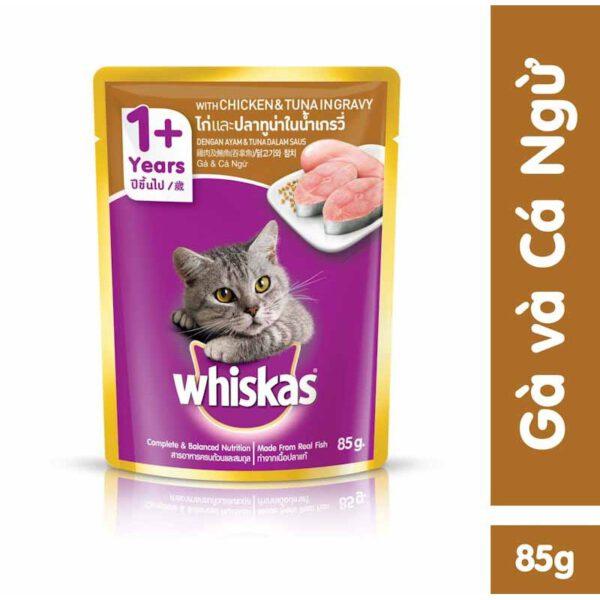 pate cho mèo whiskas vị Gà